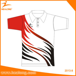 Healong Top Sale Customized and Personalized Sublimation Printing Polo Shirt pictures & photos