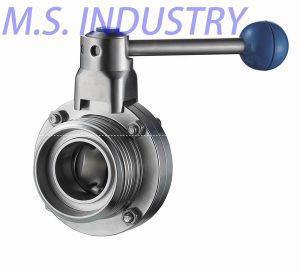 Sanitary Butterfly Valve Thread End