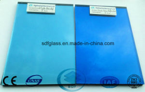 Blue Reflective Glass with Ce, ISO 4mm to 10mm