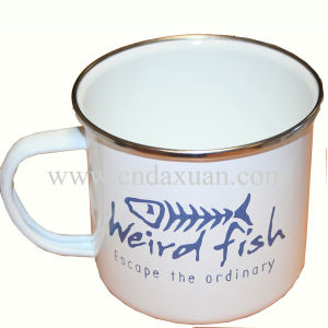 White Customized Printed Ceramic Coffee Mug Dn-921 pictures & photos