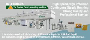 High Speed High Precision Tin Storage Tank Laminating Machine