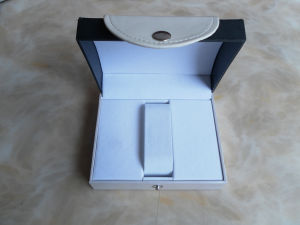 Luxury Leather Watch Packing Display Storage Box (Lr055) pictures & photos