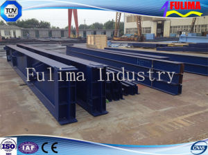 Welded Fabricated Steel H Beam for Steel Structure (WB-003) pictures & photos