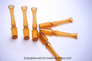 1ml Amber Type C Ampoule with Breaking Ring Made by High Quality Neutral Glass Tube pictures & photos