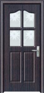 Hot Sale Toliet Door PVC Wooden Doors (PVC door) pictures & photos