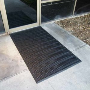 Custom Large Big Indoor Outdoor Rubber Door Mats pictures & photos