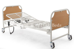 Wooden Two-Function Electric Folding Bed for Home Use pictures & photos