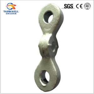Forged Carbon Steel Twisted Eye Chain Link for Pole Line pictures & photos