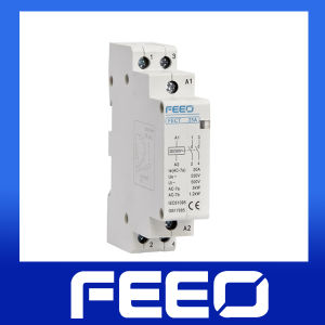 2p Miniature 25A/16A/10A Modular AC Contactor pictures & photos