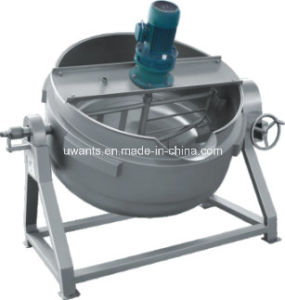 High Qualtiy Steam Heaing Cooking Pot with Mixer pictures & photos