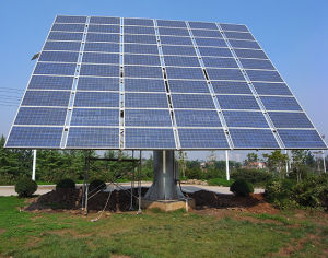 Poland Hot Selling Dual Axis Solar Tracker for PV Station with Leading Technology