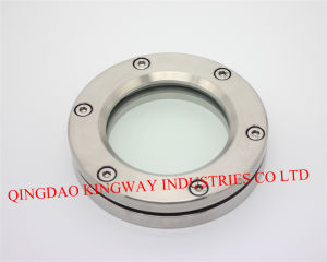Sanitary Straight Flanged Sight Glass. pictures & photos