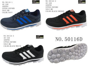No. 50116 Three Colors Men Sport Stock Shoes pictures & photos