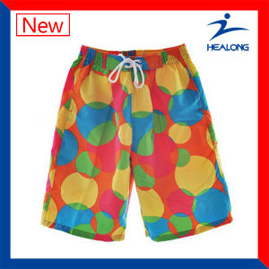 Healong Customized Full Sublimation Printing Beach Shorts pictures & photos