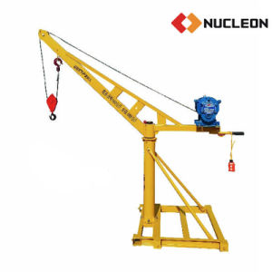 Small Construction Lifting Hoist Crane 0.5 Ton pictures & photos