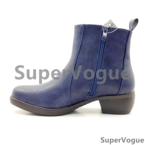 3 Color Comfortable Fashion Women Boots/Shoes Lady Boots/Shoes Ankle Boots Elastic Boot pictures & photos