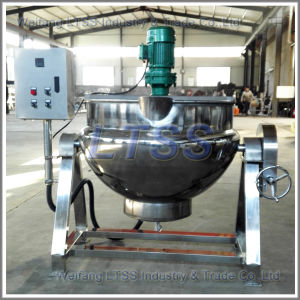 Steam Cooking Pot with Mixer Jacketed Type pictures & photos