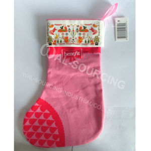 Promotional Christmas Gift Canvas Cotton Stocking
