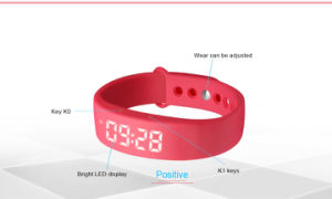 Promotional Gift Calorie Counter Wrist Smart Bracelet pictures & photos