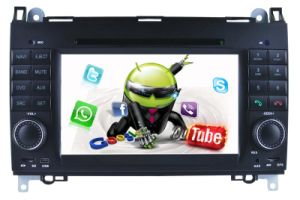 Android 5.1/1.6 GHz Portable DVD Player Car DVD GPS for Mercedes Benz a/B 2012 Before with WiFi Connection Hualingan pictures & photos