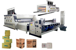 Automatic Flexo Printing and Die Cutting Machine pictures & photos