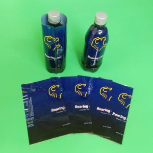 Plastic Shrink Label for Drink Bottle pictures & photos