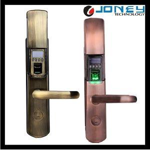 Zinc Alloy OLED Security Intelligent Biometric Fingerprint Door Lock pictures & photos