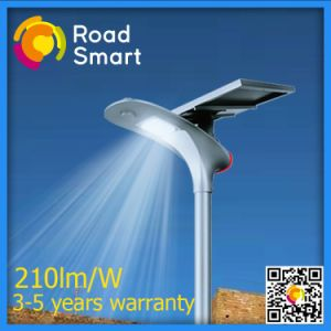 15W Solar Street Lamp with Adjustable Angle of Solar Panel on Two Grade Highway pictures & photos