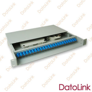 Fixed Rack Mount Type Patch Panel 24cores pictures & photos