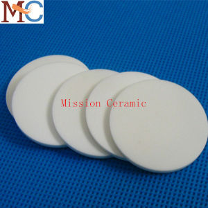 Wearable Ivory Alumina Ceramic Thin Plate pictures & photos