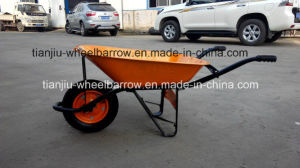 Hot Sale Wheel Barrow Wb6400 for Saudi Arabia Market pictures & photos
