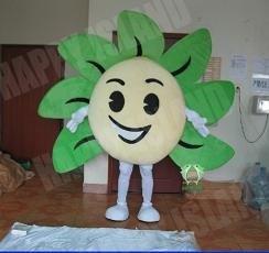 Hi En71 Adult Fur Flower Mascot Costume