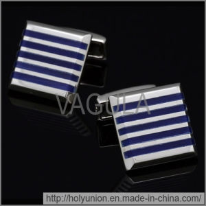 VAGULA Shirt Silver Brass Cufflinks (Hlk31683) pictures & photos