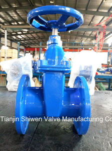 Non-Rising Stem Resilient Seated Gate Valve Pn16 pictures & photos