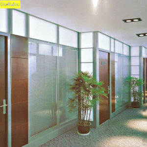 Modular Glass Operable Office Cubicle Partition Wall