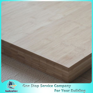 Multi-Ply 10mm Natural Edge Grain Bamboo Panel for Furniture/Worktop/Floor/Skateboard pictures & photos