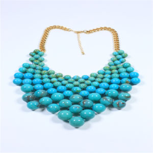 New Item Glass Acrylic Beads Fashion Jewellery Set Earring Bracelet Necklace pictures & photos