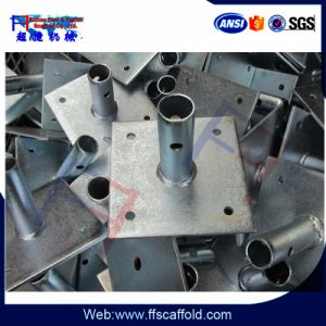 En74 Scaffolding Base Plate (125*125*5mm) pictures & photos