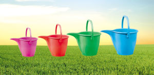 Plastic Watering Can Water Bucket (3L, 5L, 8L, 10L) pictures & photos