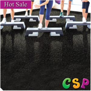 3mm-12mm Thick Anti Slip Crossfit Rubber Floor Mat in Roll Rubber Gym Floor pictures & photos