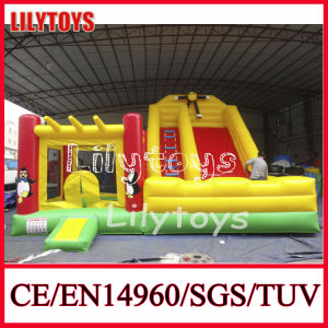 2015 Yellow Color PVC Inflatable Indoor Playground for Sale (J-BC-039) pictures & photos
