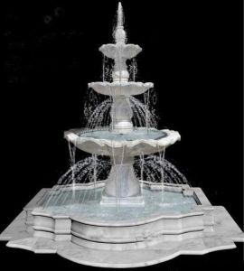 White Marble Outdoor Fountain Fall pictures & photos
