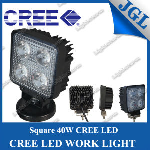 20W Square Spot/Flood Offroad Vehicle LED Work Lamp Work Light
