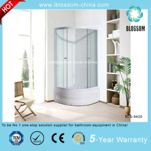 New Style Clear Glass Simple Shower Cabin Shower Cubicle (BLS-9420) pictures & photos