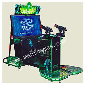 Shooting Arcade Game Machine Named Aliens for Sale pictures & photos