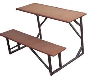 Hot Sell Cheap Double Joint Desks and Chairs for School Student pictures & photos