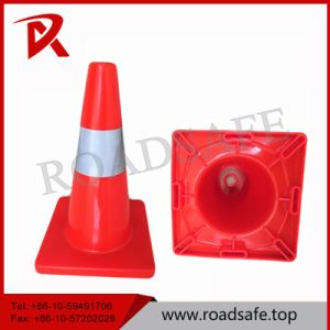 45cm Orange Flexible PVC Traffic Cone pictures & photos