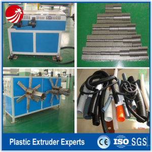 Single Wall PE Corrugated Pipe Extrusion Machine pictures & photos