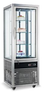 Four Sides Glass Cake Display Refrigerator (FG418L1-S) pictures & photos