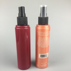 High Quality Pet Plastic Sunscreen Sprayer Cosmetic Bottle with Screen Printing